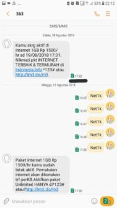 Cara Daftar Paket Yellow Indosat Melalui SMS