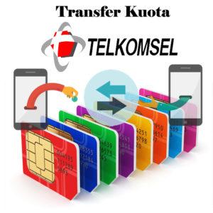 Cara Transfer Kuota Telkomsel ke Nomor Lain