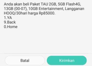Cara Menggunakan Paket Entertainment Telkomsel