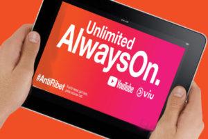 Cara Mengaktifkan AlwaysOn Unlimited Youtube dan VIU Tri