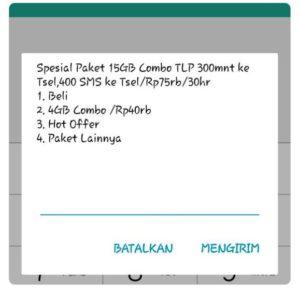 Paket Internet Telkomsel 15GB 75000
