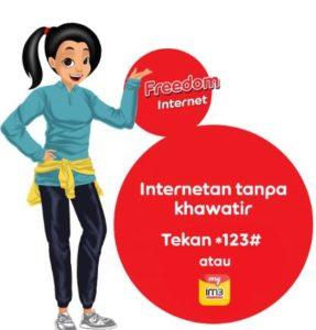 Penjelasan Paket Freedom Internet Indosat Ooredoo