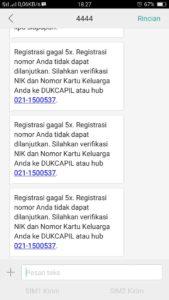 Cara Registrasi Kartu Indosat Yang Gagal 5x Kode Paket