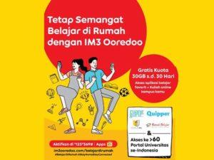 Kuota Edukasi Gratis Indosat