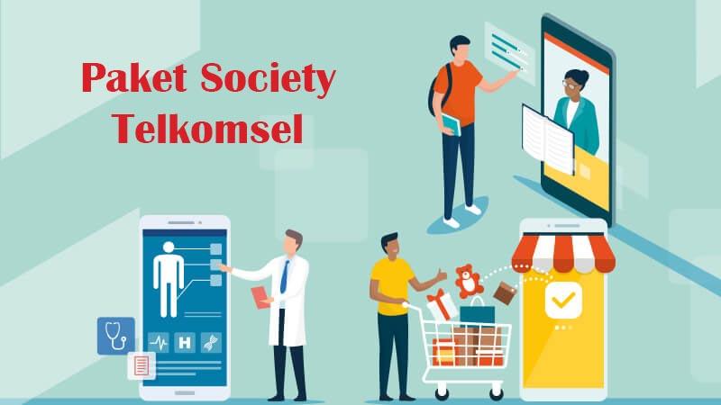 Cara Daftar Paket Society Telkomsel
