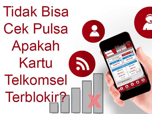 Cara Mengatasi Tidak Bisa Cek Pulsa Telkomsel 2021